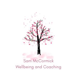 Sam McCormick - Wellbeing Coaching Logo